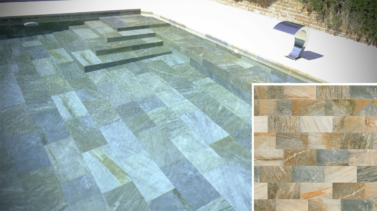 What colour will my pool be? - Swimming Pool Tiles